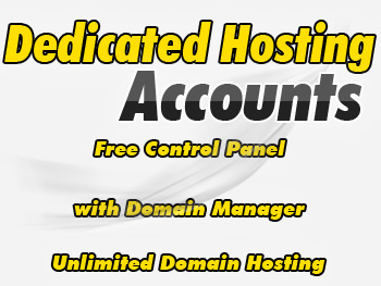 Moderately priced dedicated hosting accounts